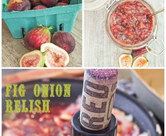 Fig-Onion Relish