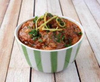 Harissa Lamb and Brinjal Stew