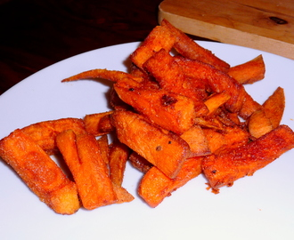Sweet Potato Fries – Süßkartoffel-Pommes