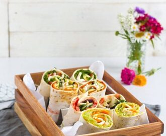 Vegetarische Brotzeit Wraps