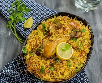 Chicken Pulav \ Indian Style Rice with Chicken