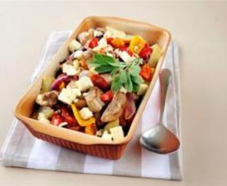 Pork and Feta Bake