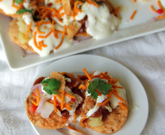 Papdi chat - Papdi Chaat - Paapri chaat - Snack recipes