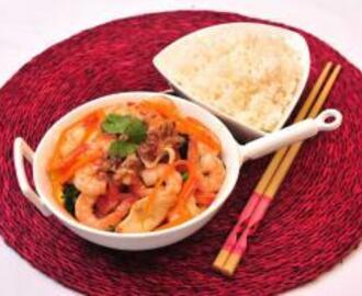 Prawn and Calamari Stir Fry