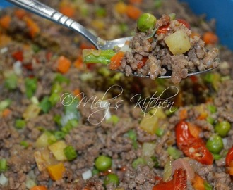 Hot and Spicy Ground Beef