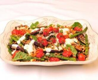 Brinjal Salad with Yoghurt Dressing