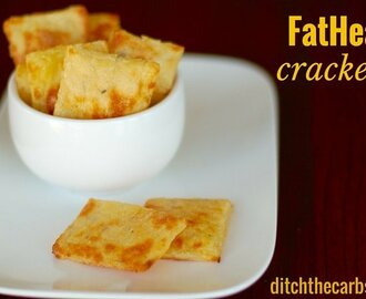 Low Carb FatHead Crackers