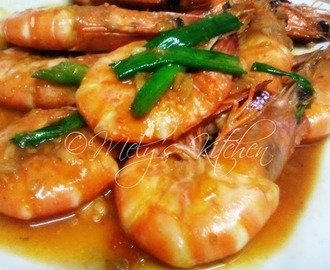 Shrimp with Garlic and Tomato