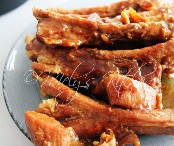 Pork Long Ribs Adobo