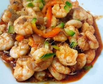 Butter Calamansi Shrimps