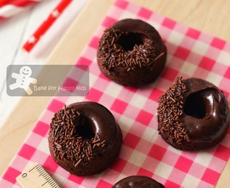 Chocolate Zucchini Doughnuts / Donuts and Cake Balls