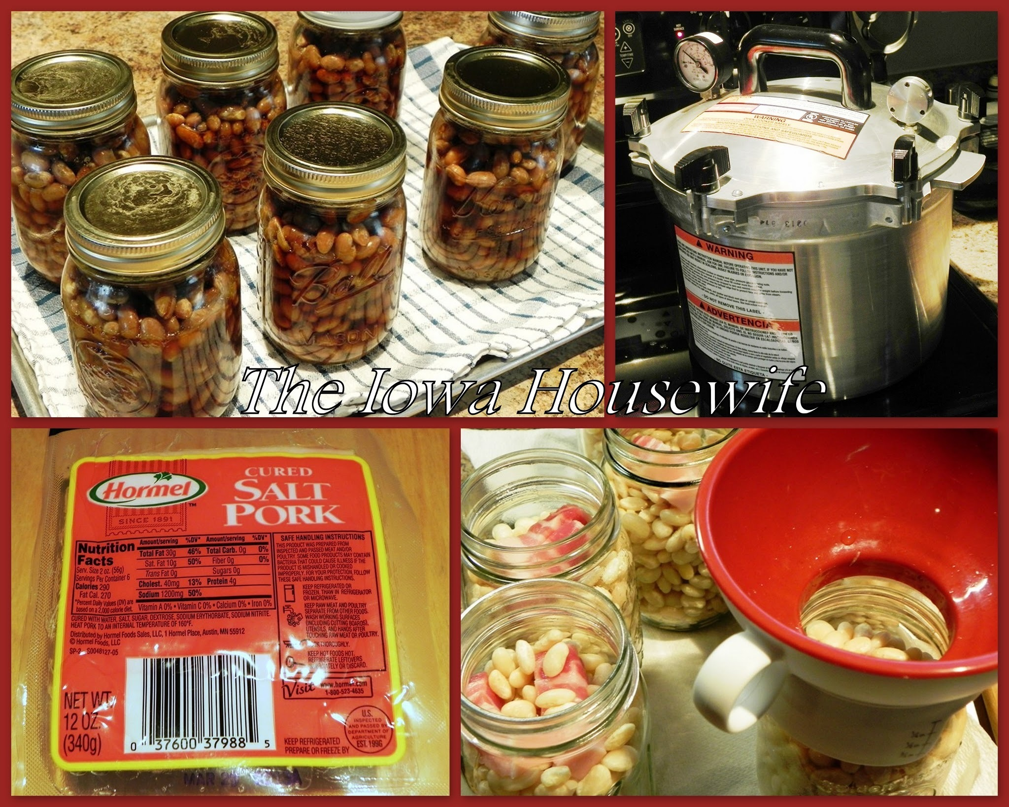 Home Canned Boston Style Beans