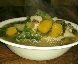 Utan Bisaya (Visayan Vegetable Soup)