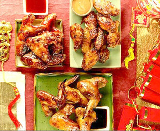 Chinese New Year Chicken Wings