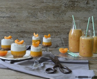 Marillen Smoothie / Smoothie with Apricots and Nectarines