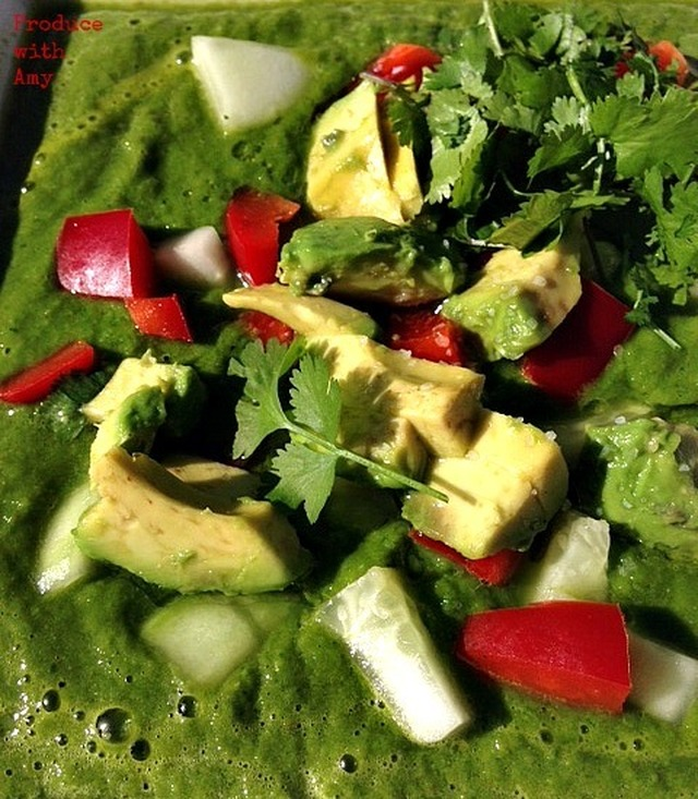 Chilled Green Soup –  A Summer Staple