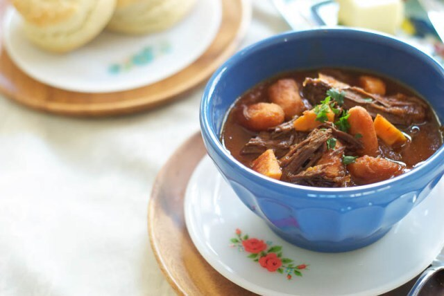 Indian Spiced Fall Roast Beef Stew