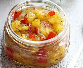 Pineapple Mint Chutney Recipe
