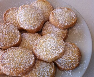 Lemon Shortbread Biscuits