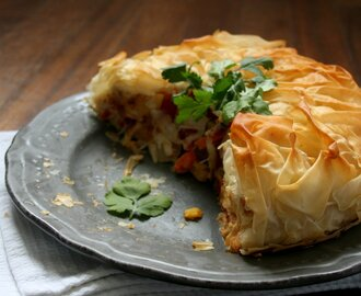 Roasted Thai Vegetable Pie