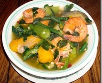 Laswa / Sinabawang Gulay (Boiled Vegetables)
