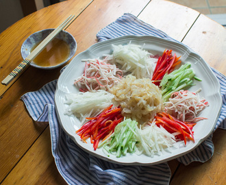 Korean Cold Jellyfish Salad – Haepari Naengchae