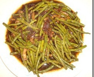 Adobong Sitaw (String Beans Adobo)