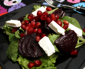 Pomegranate, Beetroot & Feta Salad