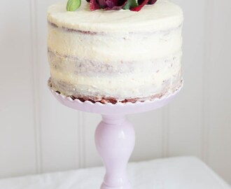 Natural Red Velvet Cake with Cream Cheese Frosting