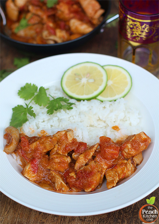 Indian Butter Chicken (Murgh Makhani)