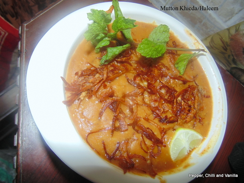 Mutton Khicda/Haleem with Coconut Milk