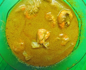 Prawn Kanji Curry /Prawn Curry with gruel