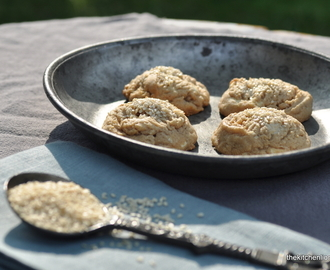 Summertime Cookie Heaven & A Recipe for Tahini and Halva Cookies with White Chocolate