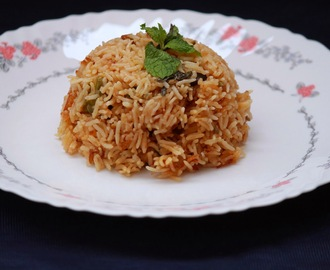 Kuska biryani - Plain biryani without any vegetables