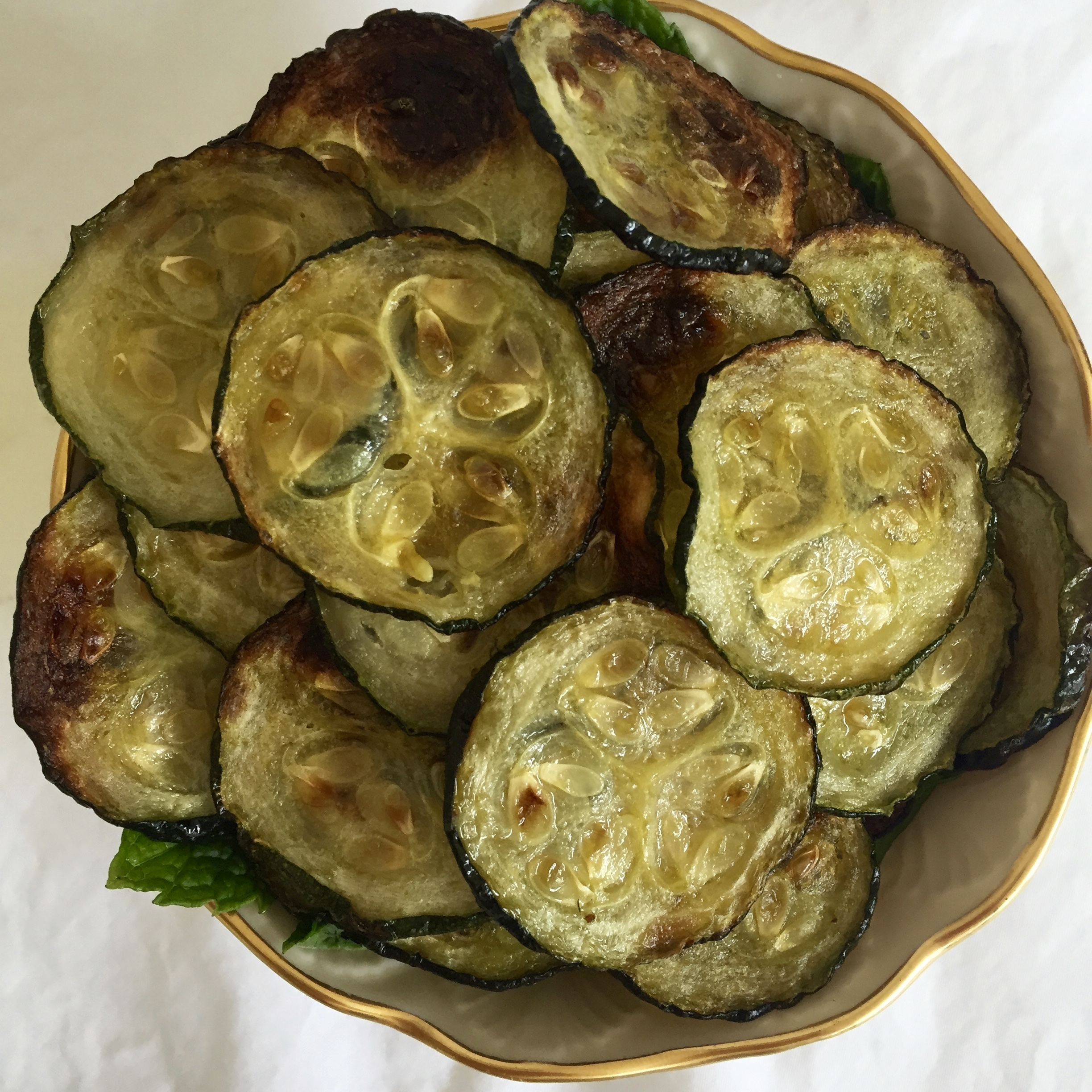 Snack Hacks: Zucchini Chips