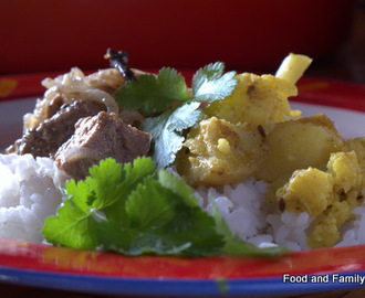 Lamb Dopiaza Recipe Gets Me Blogging Again!
