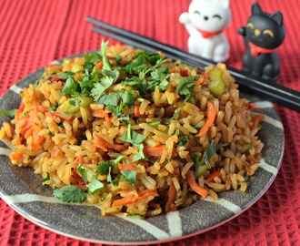 Vegetable Fried Rice #SundaySupper