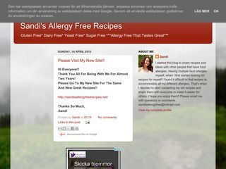 Sandi's Allergy Free Recipes