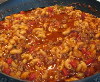 American Hamburger Goulash