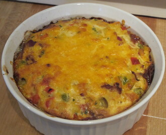 If your family tree does not fork, you might be a redneck. – Jeff Foxworthy and Mexicali Corn and Bell Pepper Casserole