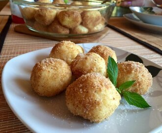 Sweet Cheese Dumplings