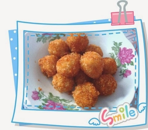 马铃薯虾球 Potato Shrimp Ball
