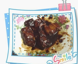蜜汁排骨 Honey Pork Ribs