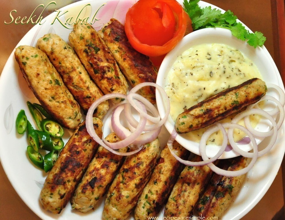 Seekh Kabab – Afghan Chicken Kebabs