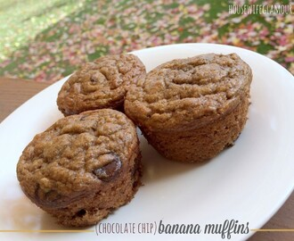 Banana Muffins and Reader Survey