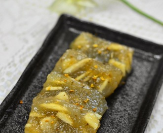 桂花馬蹄糕 Water Chestnut Cake with Osmanthus Flower / 农历新年Chinese New Year 2014