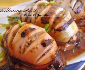 Rellenong Pusit (Stuffed Squid)