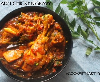 Chettinadu chicken gravy