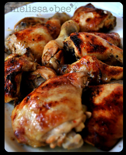 MelissaBee Recipes {Oven Baked Chicken}