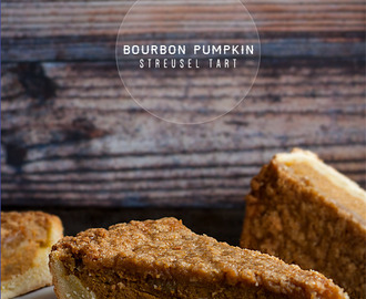 Bourbon Pumpkin Streusel Tart {Revisited} + 24 Fall Baking Recipes